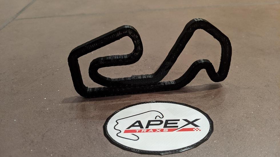 Boyndie / Grampion kart karting UK wall art race track racing circuit layout sculpture desk table motorsport motor wallart ci