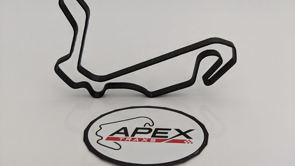 Inje Speedium ASIA circuit wall art race track racing circuit layout sculpture desk table motorsport motor wallart circuitart