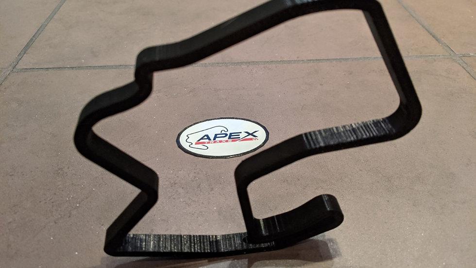 Laguna Seca UNITED STATES USA wall art race track racing circuit layout sculpture desk table motorsport motor wallart circuit