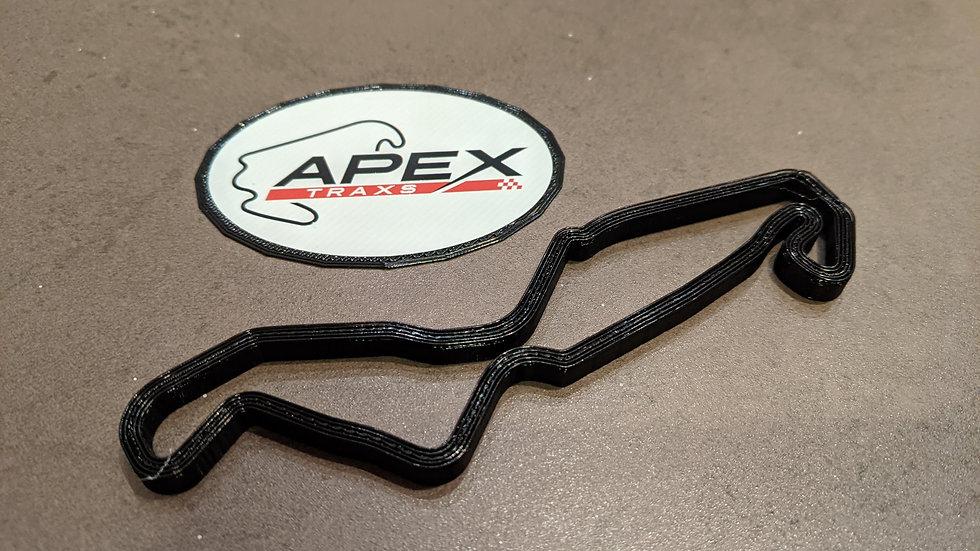 TT Circuit Assen NETHERLANDS wall art track circuit layout sculpture desk table wallart circuitart