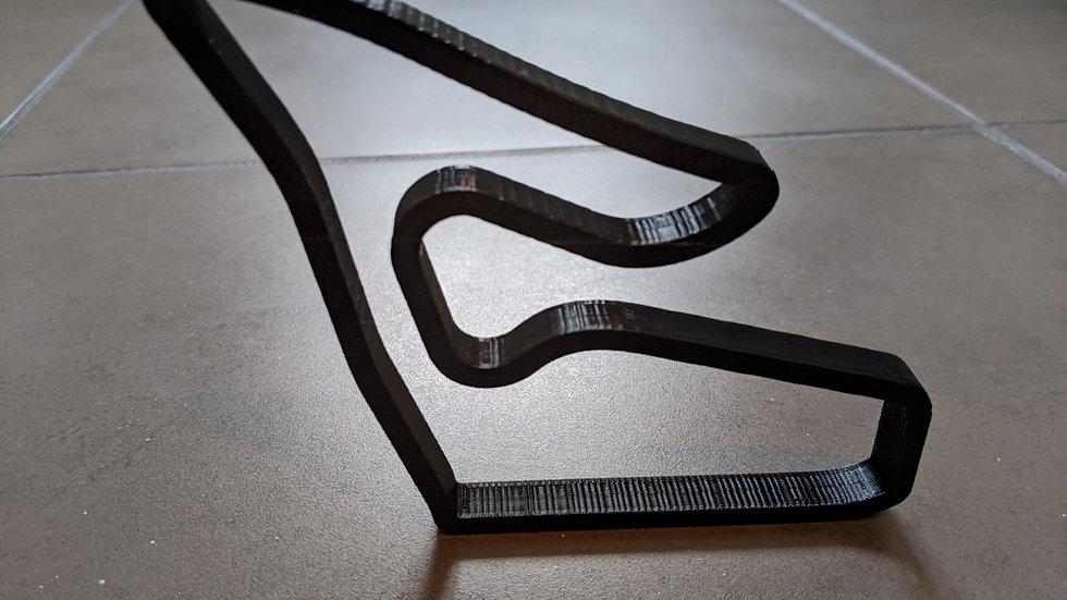 Red Bull Ring AUSTRIA wall art race track racing circuit layout sculpture desk table motorsport motor wallart circuitart trac