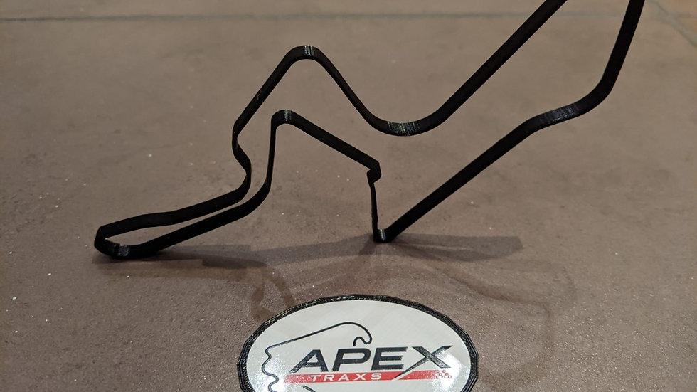 Kyalami SOUTH AFRICA wall art race track racing circuit layout sculpture desk table motorsport motor wallart circuitart track