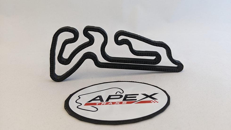 KF1 kart karting wall art race track racing circuit layout sculpture desk table motorsport motor wallart cir