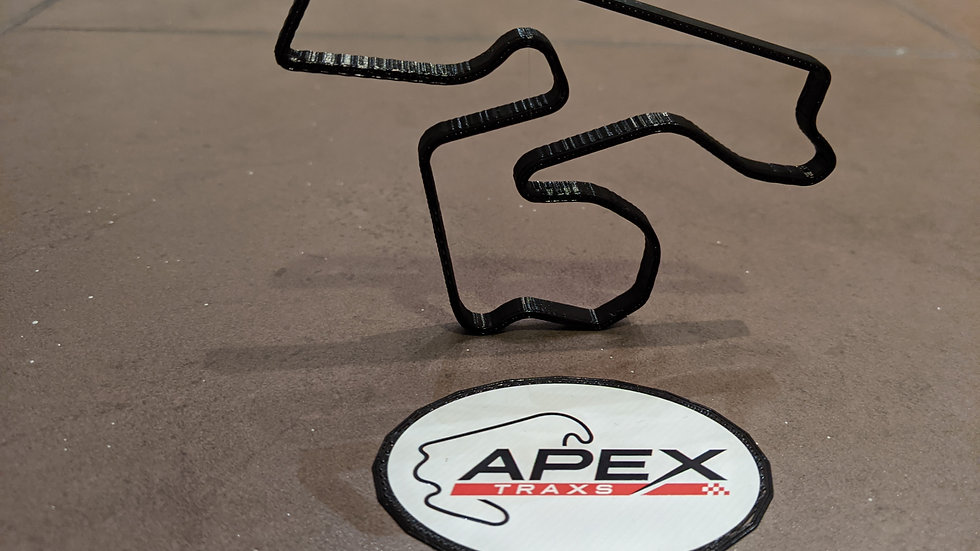 The Bend Motorsport Park AUSTRALIA wall art race track racing circuit layout sculpture desk table motorsport motor wallart ci