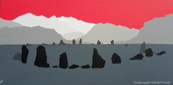 SOLD Helvellyn from Castlerigg Stone