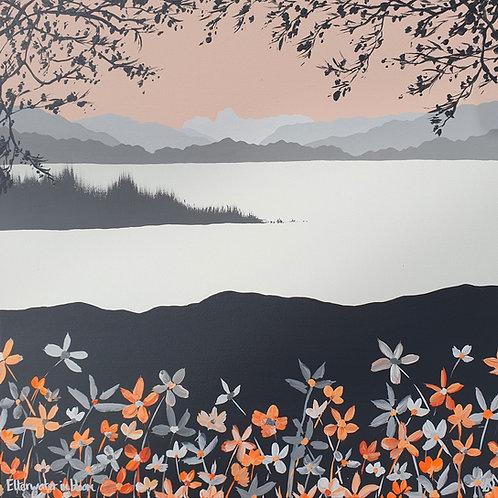 Elterwater in bloom greeting card