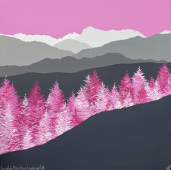 SOLD Langdale Pikes from Loughrigg Fell