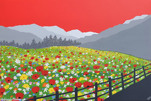 Print - Ambleside Meadow