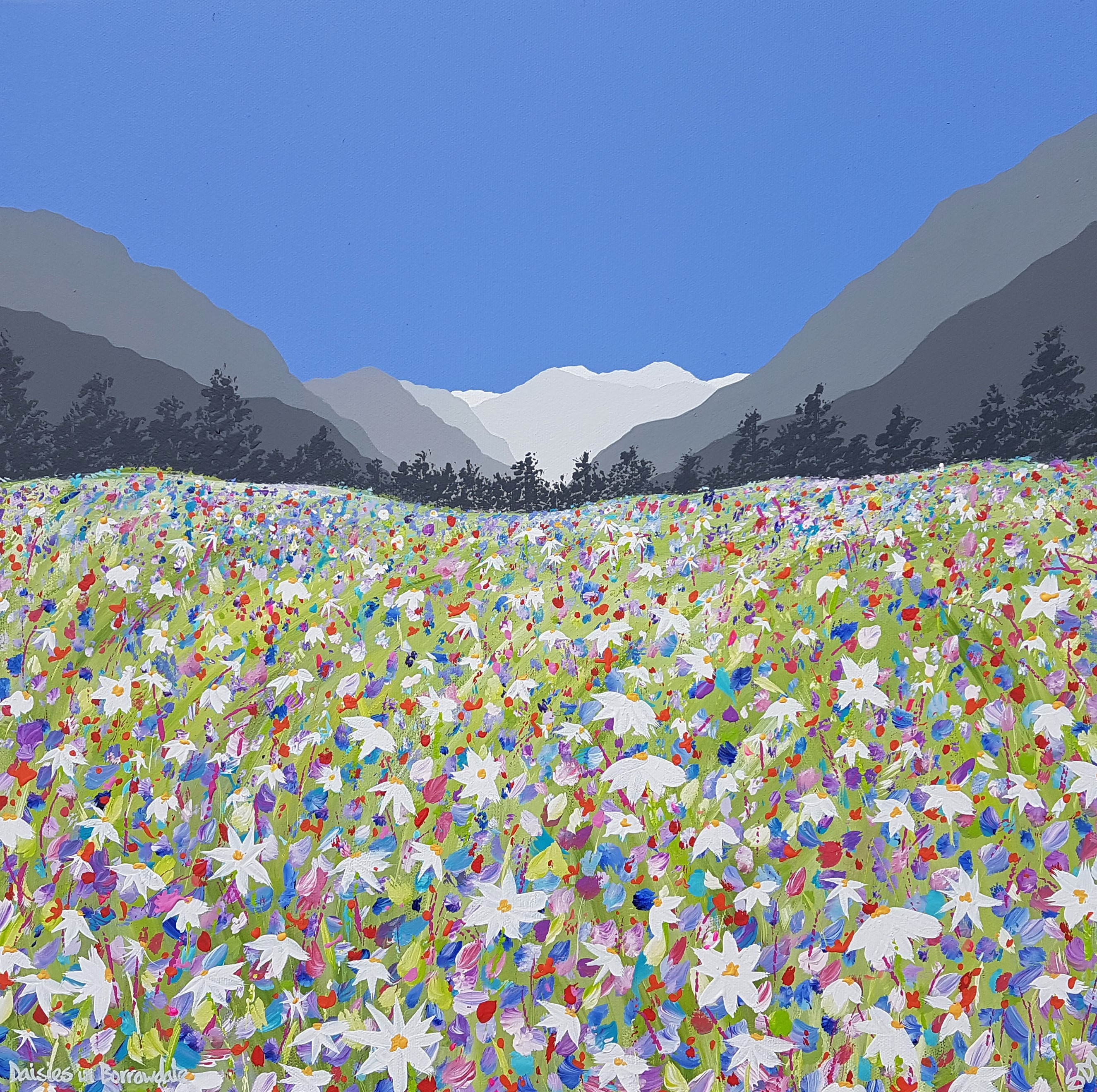 SOLD Daisies in Borrowdale