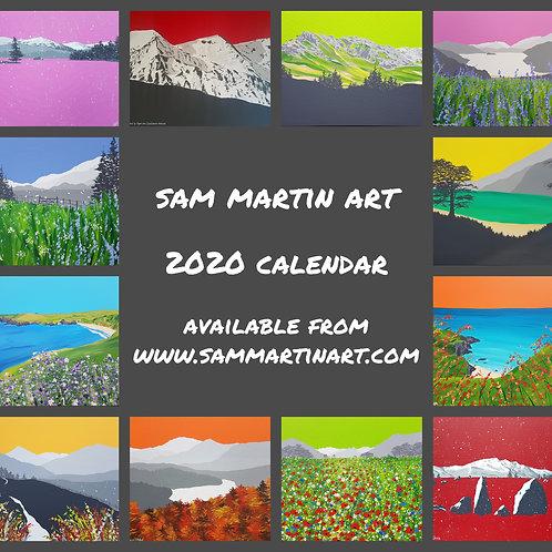 2020 Calendar (£10 plus shipping)