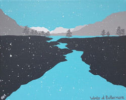 SOLD Winter at Buttermere