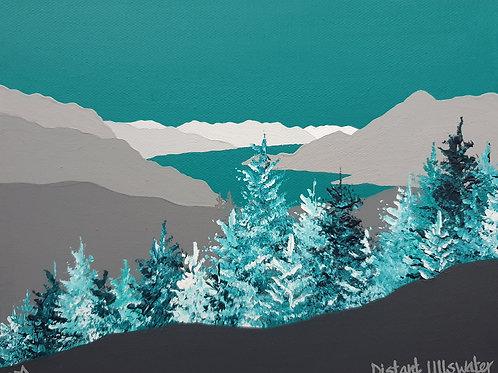 Winter above Glenridding