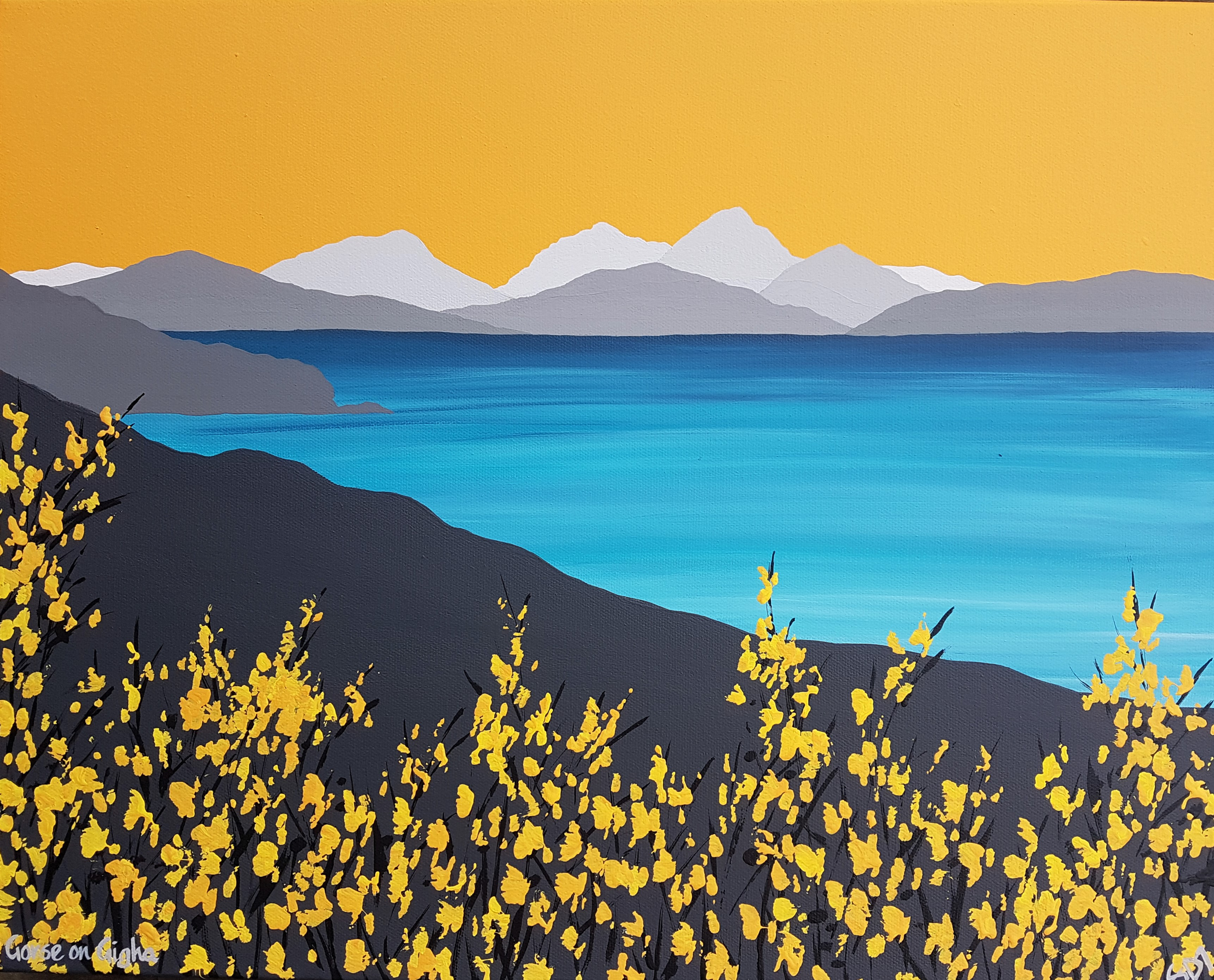 SOLD Gorse on Gigha
