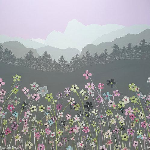Langdale Flowers greeting card