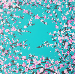 SOLD Circle of Cherry Blossom