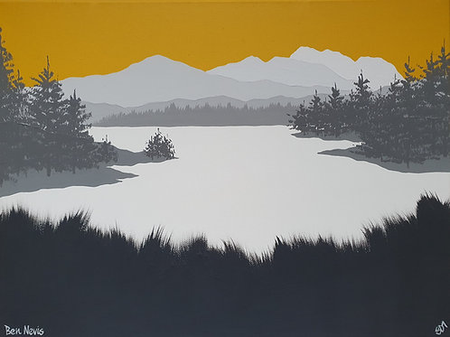 Ben Nevis Fine Art Print