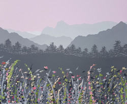 SOLD Spring flowers in Langdale