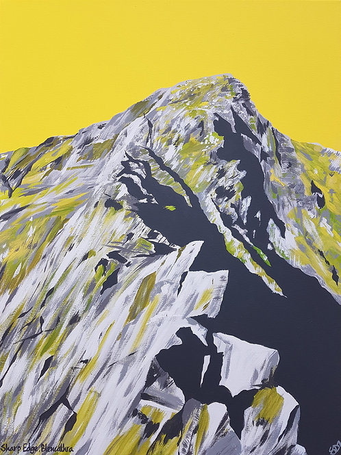 Sharp Edge, Blencathra greeting card