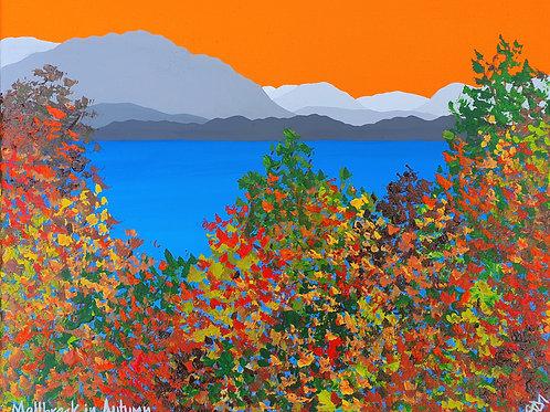 Mellbreak in Autumn