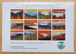 Autumn Lake District Card Collection