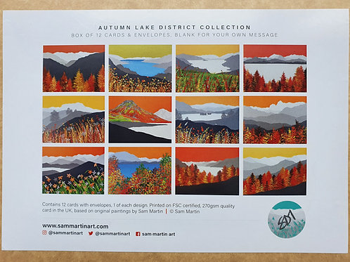 Autumn in The Lake District Card Collection