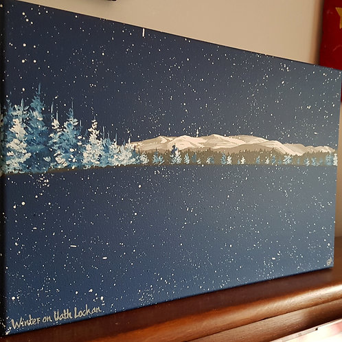 Winter on Uath Lochan