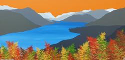 SOLD Autumn ferns & Ullswater