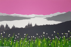 SOLD Daisies over Windermere