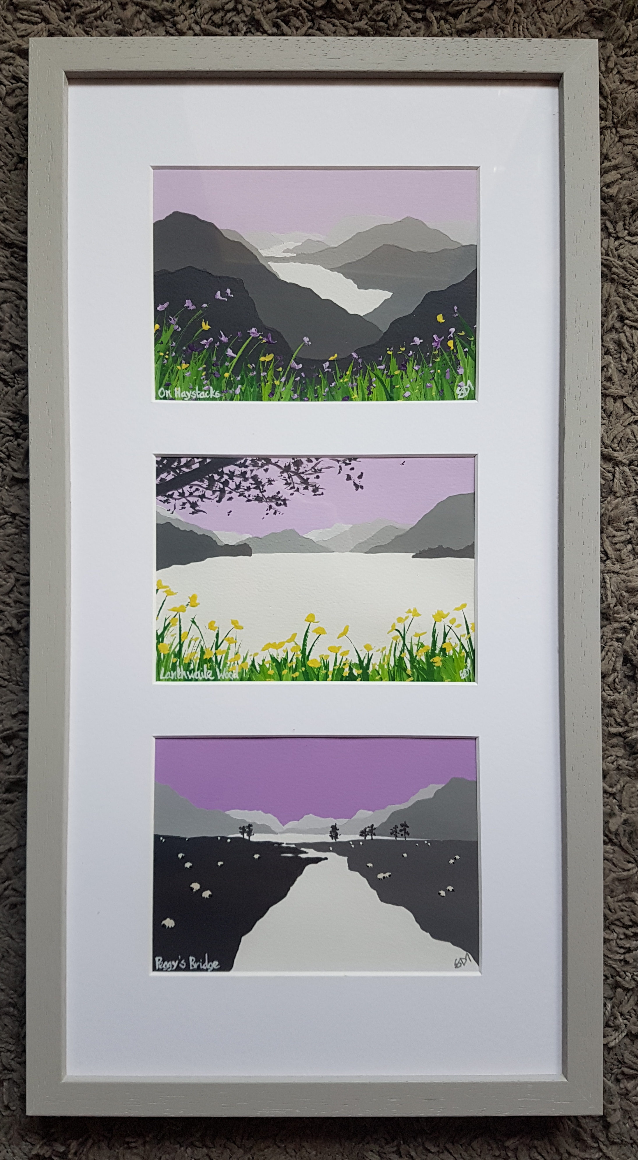 SOLD Scenes from Buttermere & Crummo