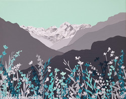 SOLD Langdale from Loughrigg