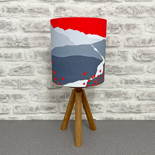 'In love with Cat Bells' Lampshade