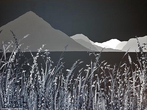 Grasmoor across Crummock Water