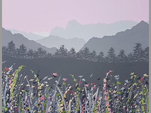 Print - Spring flowers in Langdale