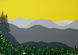 SOLD Skiddaw from Raven Crag