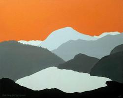 Moel Hebog from Llyn Gwynant