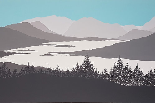 Across Loch Loyne