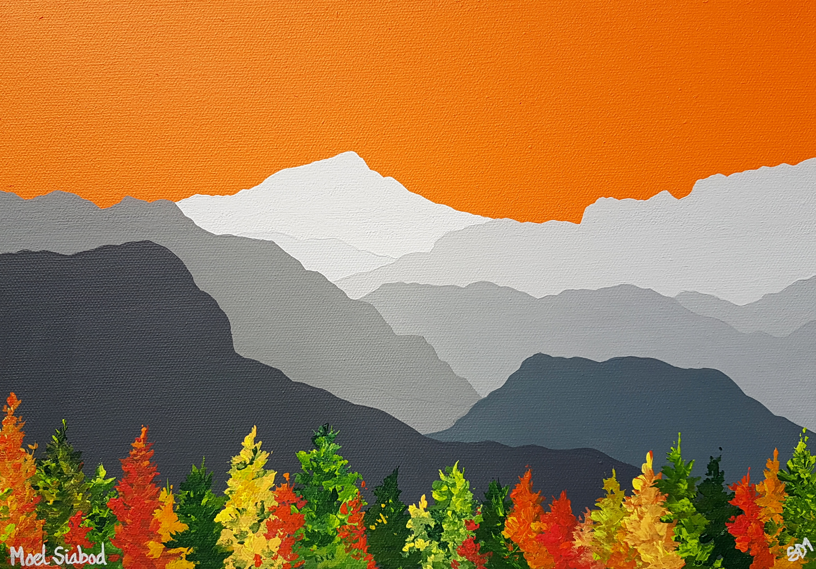 SOLD Moel Siabod in Autumn