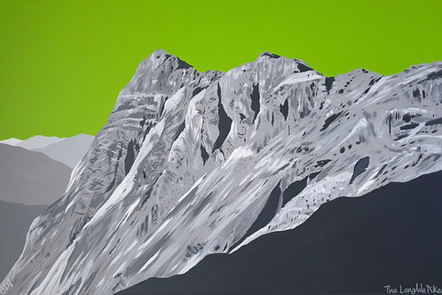 Print - The Langdale Pikes