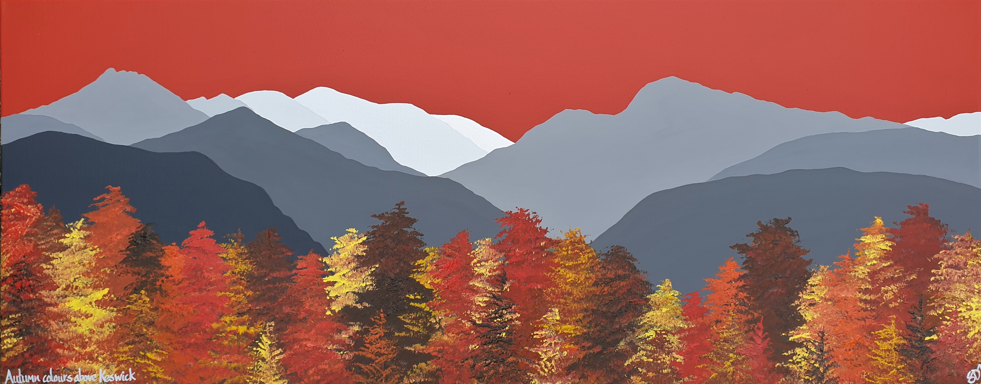 SOLD Autumn colours in Keswick