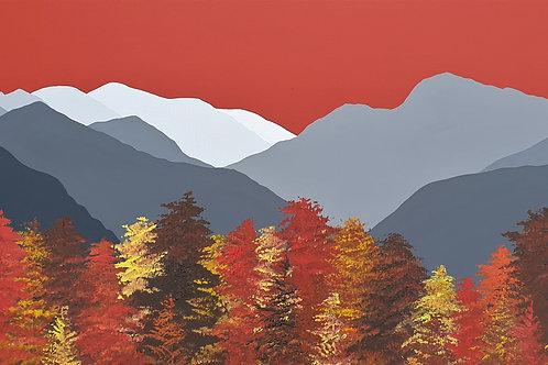 Autumn colours above Keswick