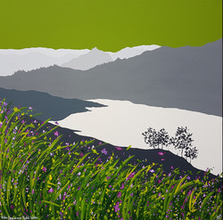SOLD Helm Crag across Rydal Water