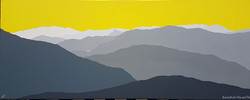 SOLD Distant fells from Dollywaggon
