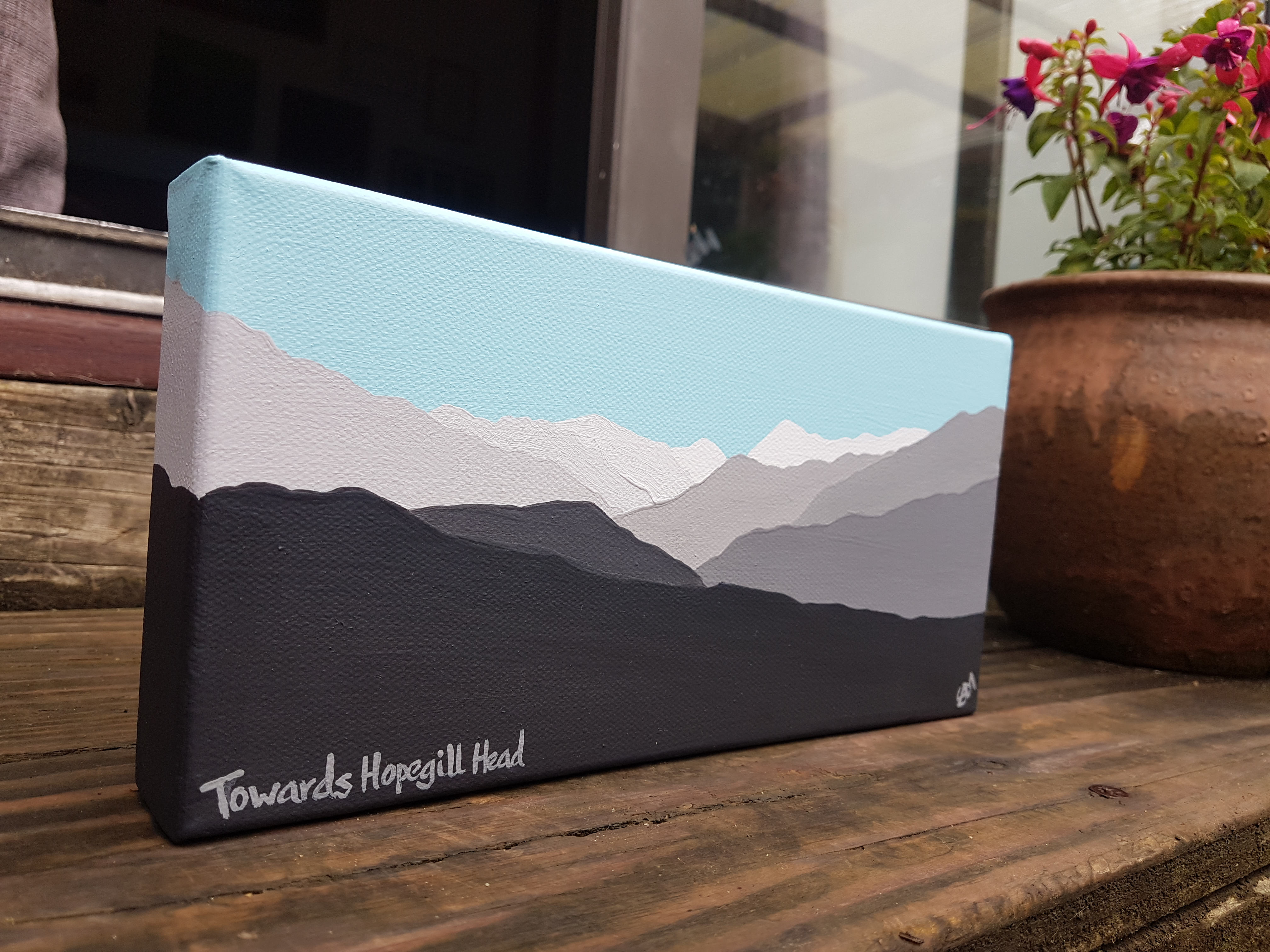 SOLD Towards Hopegill Head (mini)
