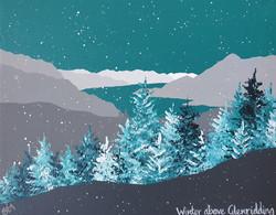 SOLD Winter above Glenridding