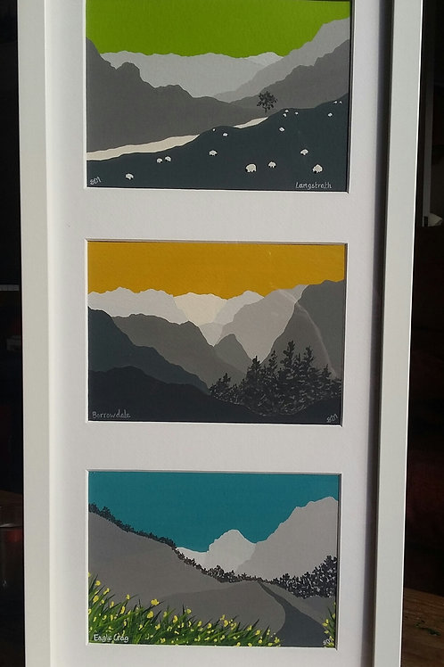 Scenes from Borrowdale (Framed)