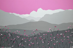 SOLD Summer pinks in Langdale