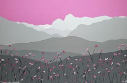 SOLD Summer pinks in Langdale