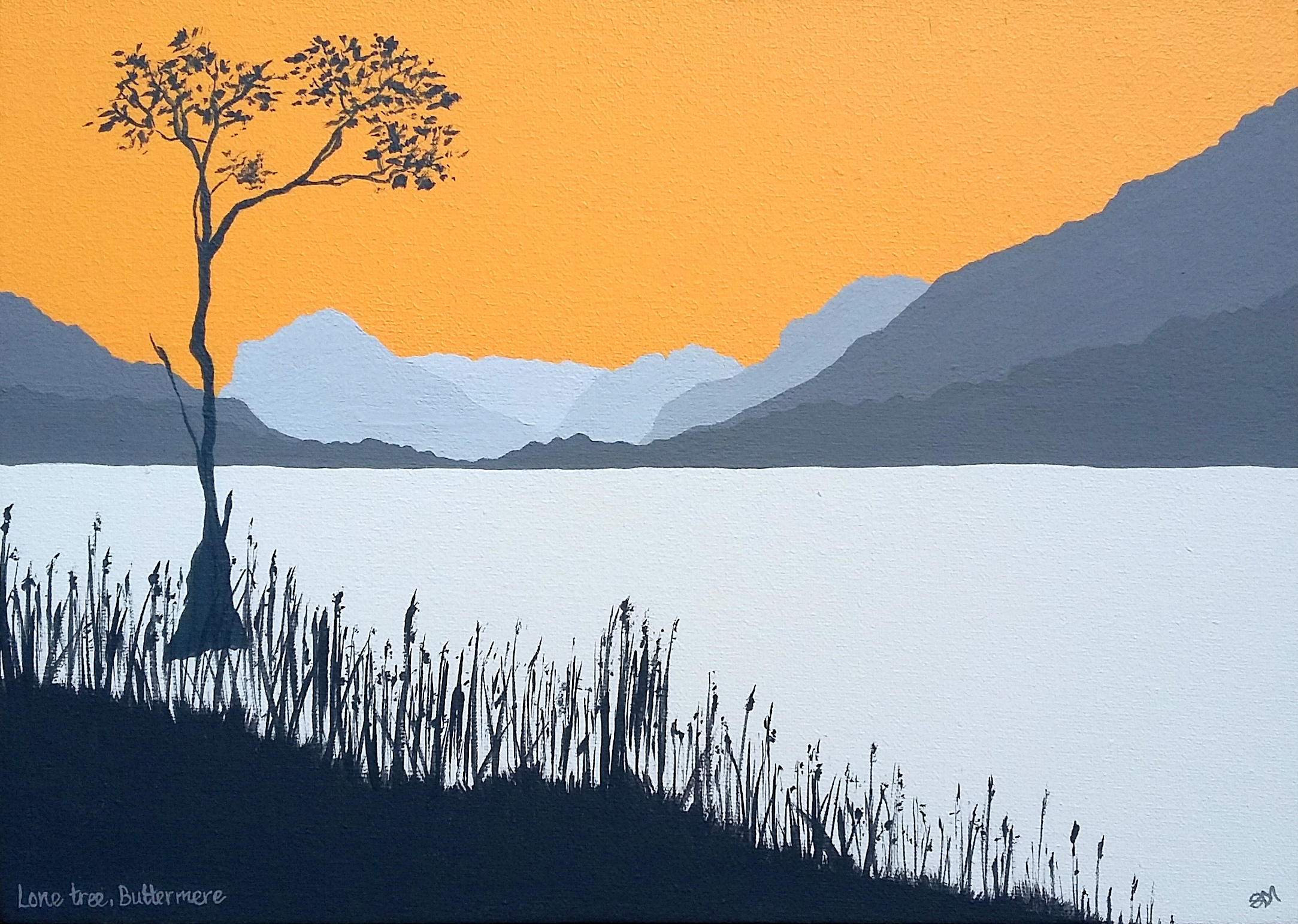 SOLD Lone Tree at Buttermere