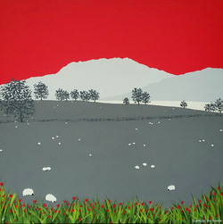 SOLD Loughrigg Fell from Grasmere