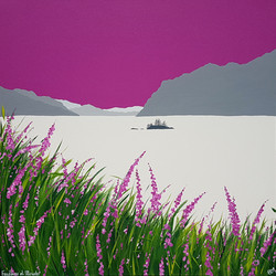 SOLD Foxgloves at Ullswater